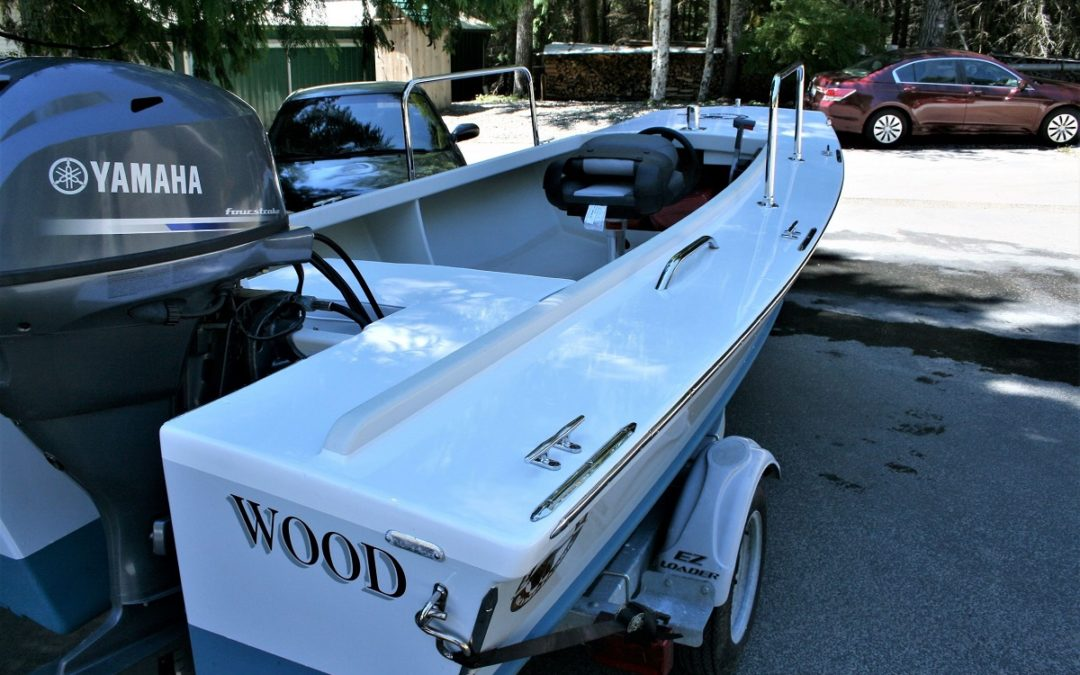 Three Wood – Cackler 14 Duck Boat – $3,000 Boat Show Price Reduction!