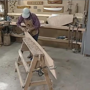 Wooden Boat building video cover image