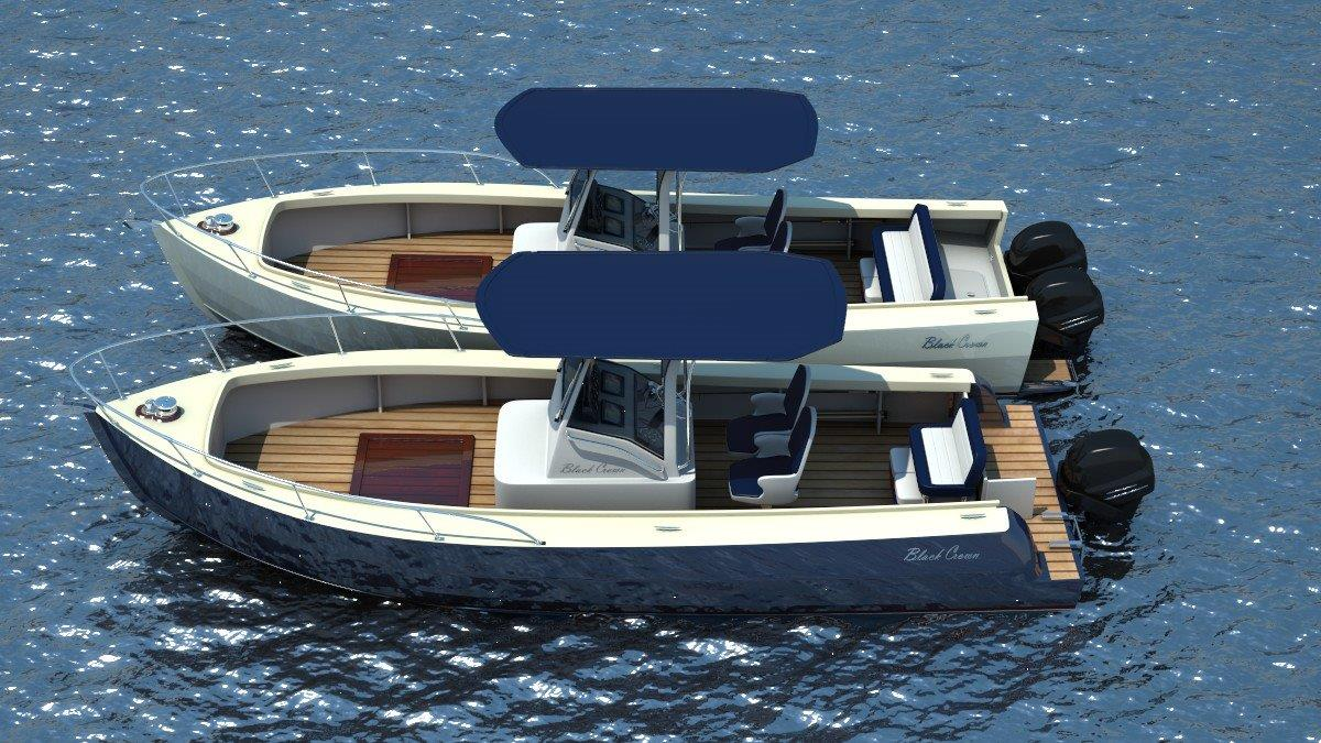 Devlin Pelican 23 center console, boat built from a DYI plan