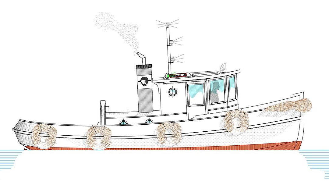 Amak 26 Tugboat