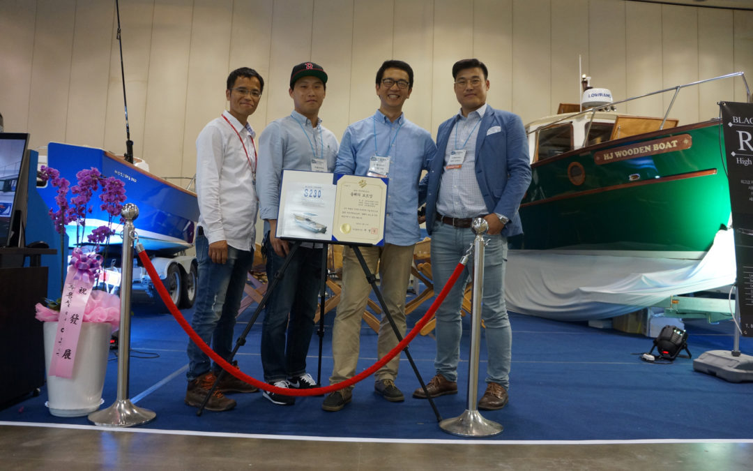Devlin Licensed Builder Wins Best Boat Award