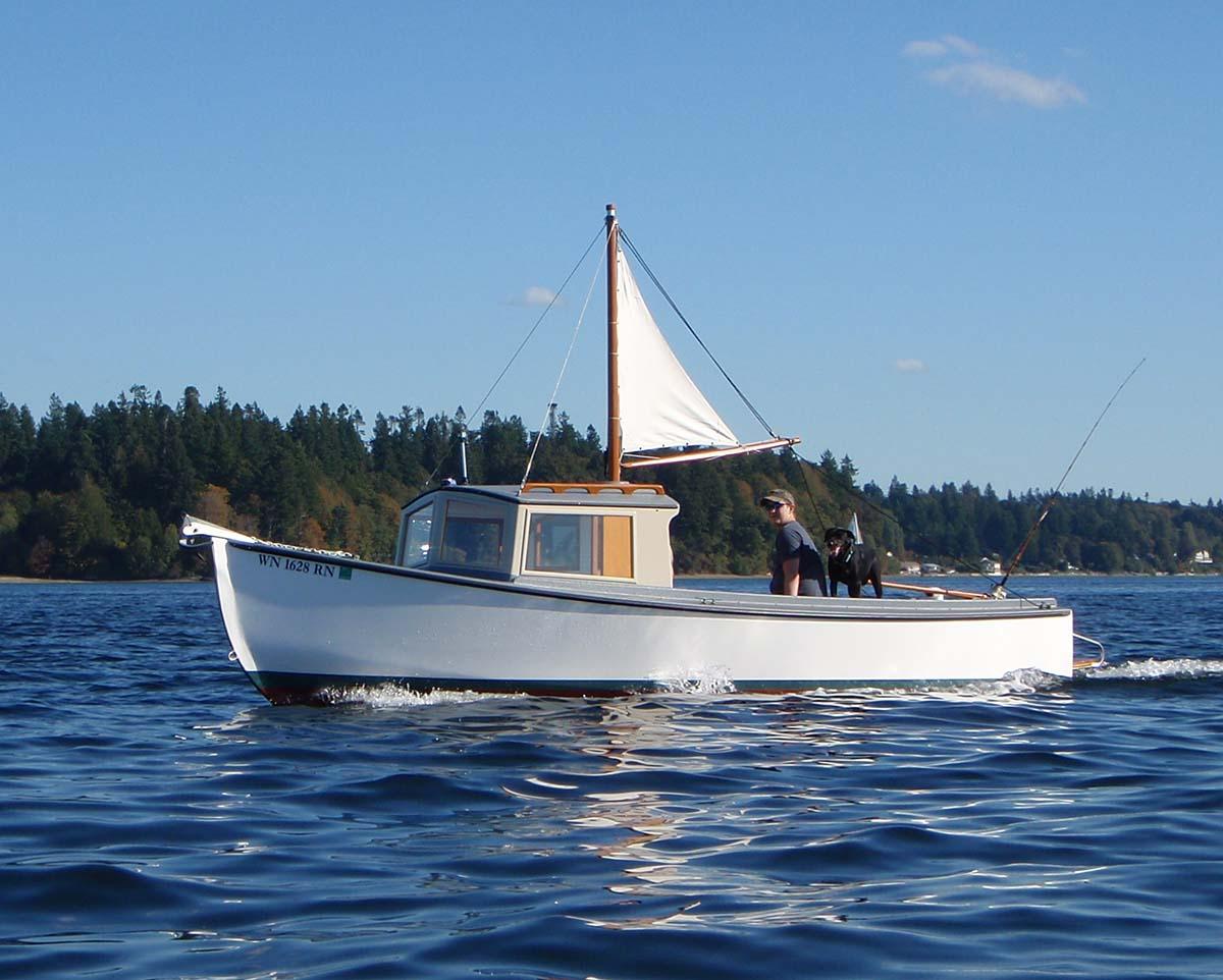Devlin Chinook 21 cruise diy boat plan