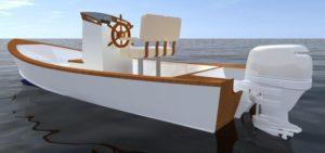 Devlin Curlew 20, open console fishing boat