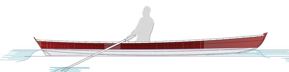 Devlin Duckling 17 rower side image