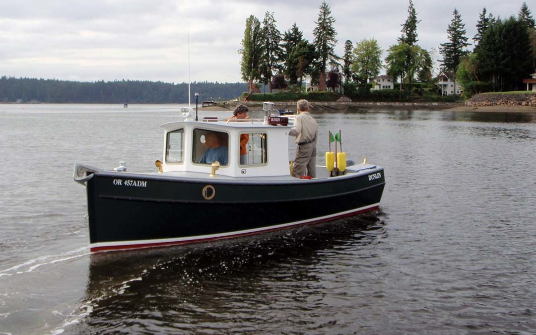Dunlin 22 Pilothouse