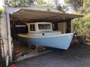 Devlin Pelicano Shrimper built from a DIY plan