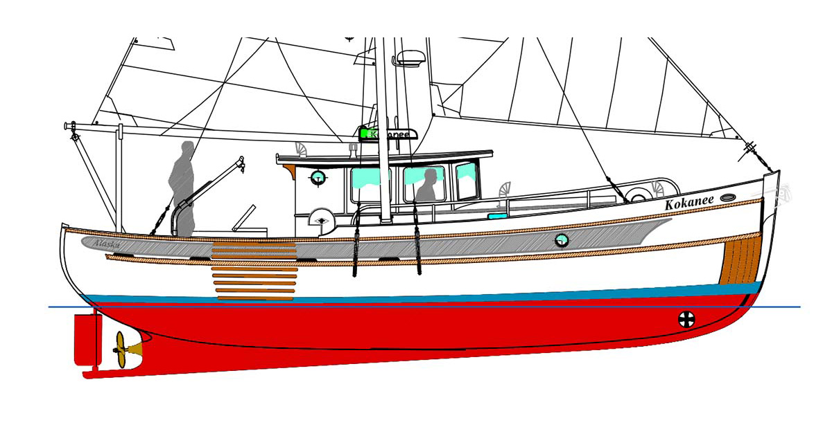 Devlin Kokanee 36 diy boat plans featured img