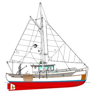 Devlin Kokanee 36 diy boat building plans