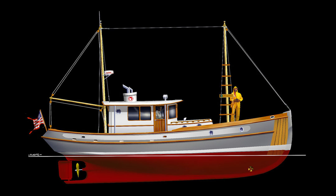 Devlin Kokanee 43 diy boat plan featured image