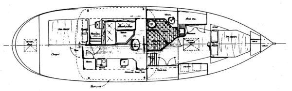 Devlin Kokanee 43 diy boat plan