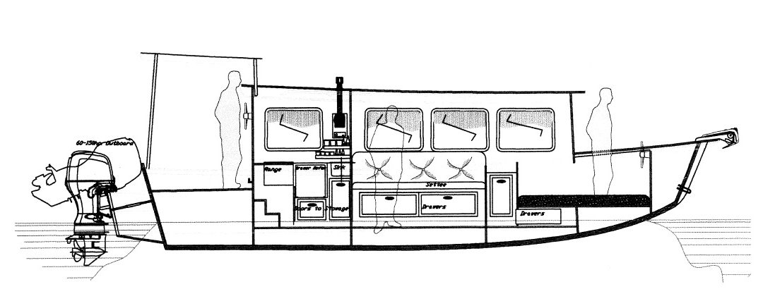 Lingcod 29 Houseboat