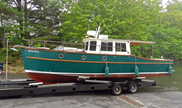 Devlin Topknot 10 Meter picnic cruiser diy stitch and glue boat plan