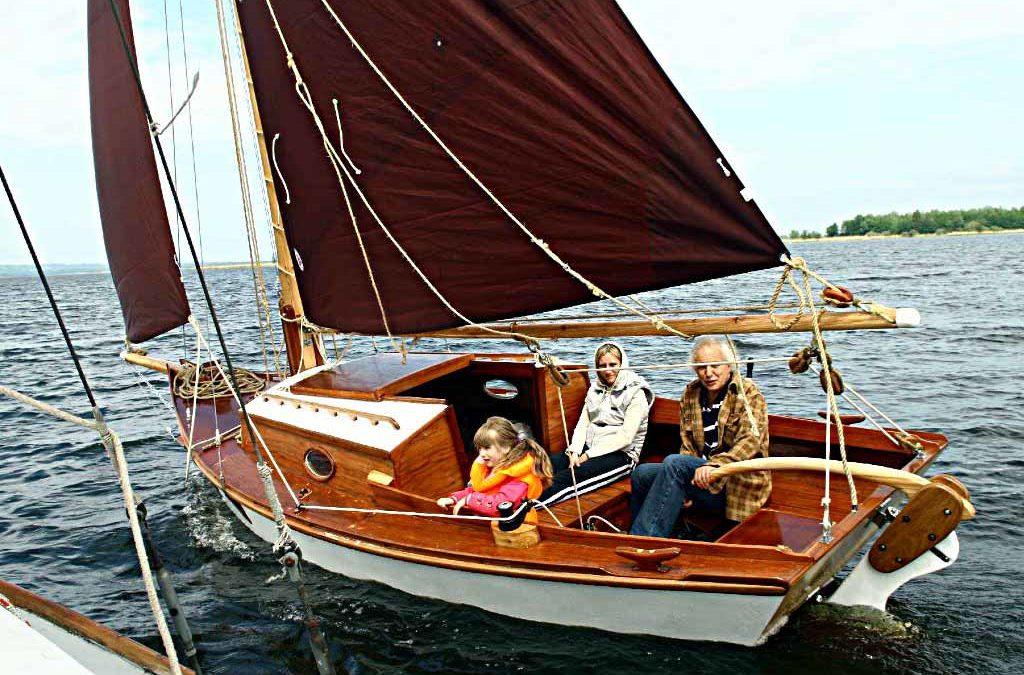 Winter Wren II 19 Dagger Board | Devlin Designing Boat Builders