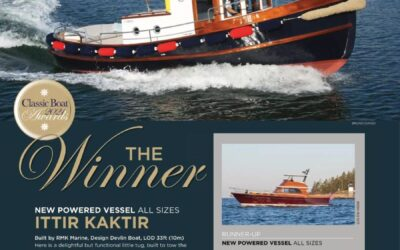 New Powered Vessel of the Year Award 2021!